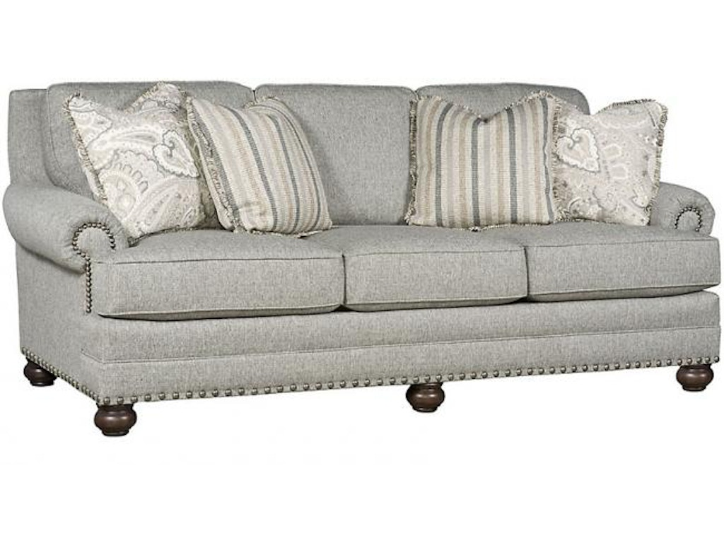 King hickory living room thomas sofa 7700 howell for Q furniture beaumont texas