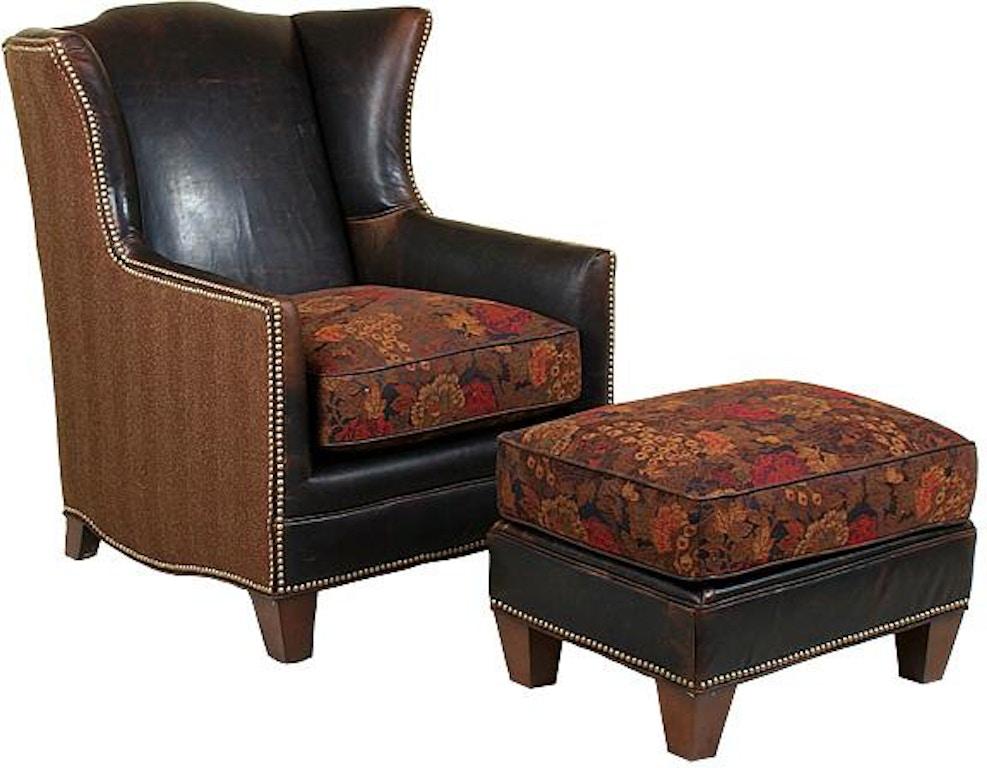 King Hickory Living Room Athens Chair 771 Lf Hickory