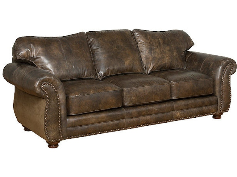 King Hickory Santana Leather Sofa 8000 L