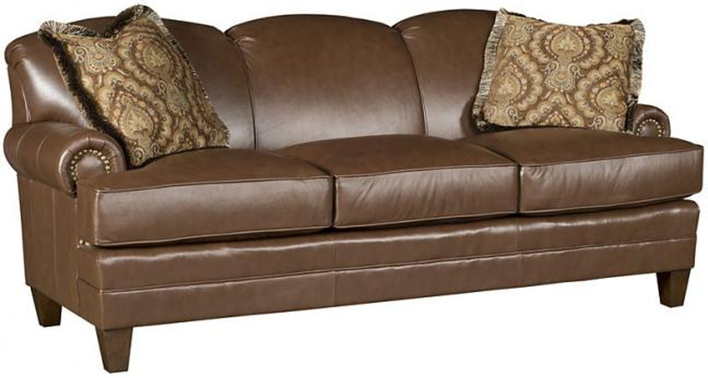 King Hickory Living Room Callie Leather Sofa 5050-L - Good\'s ...