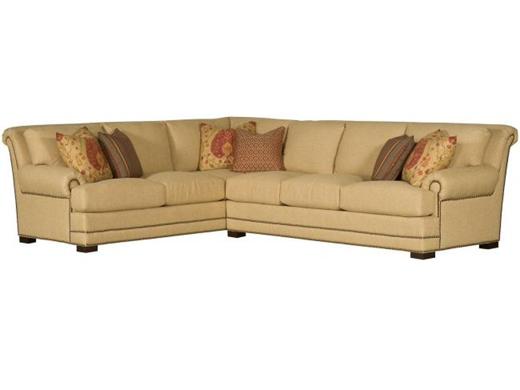 Hickory Manor Living Room Barclay Fabric Sectional 4662 Sect Grace Furniture Marcy Ny