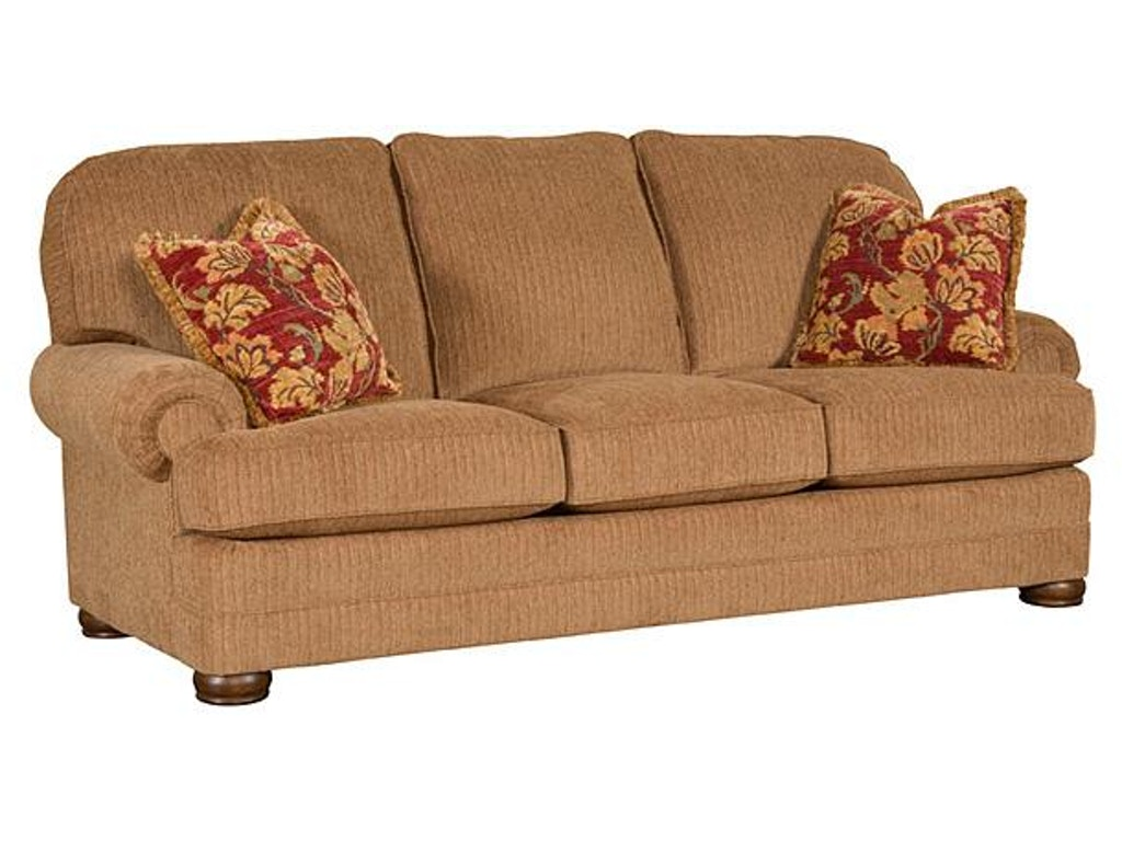 King Hickory Living Room Edward Fabric Sofa 8200