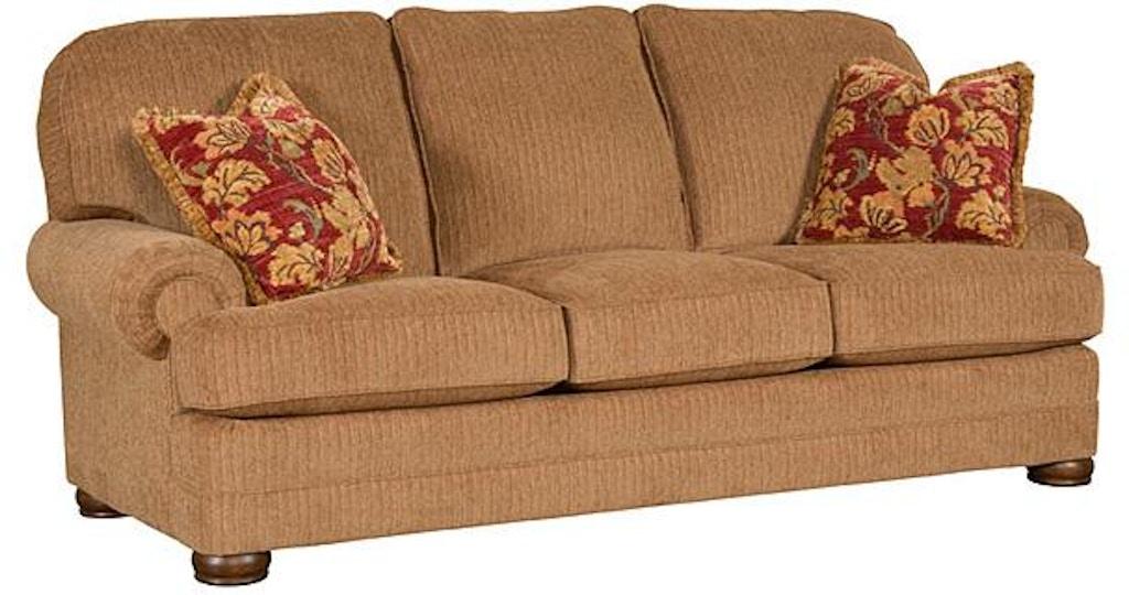 King Hickory Edward Fabric Sofa 8200