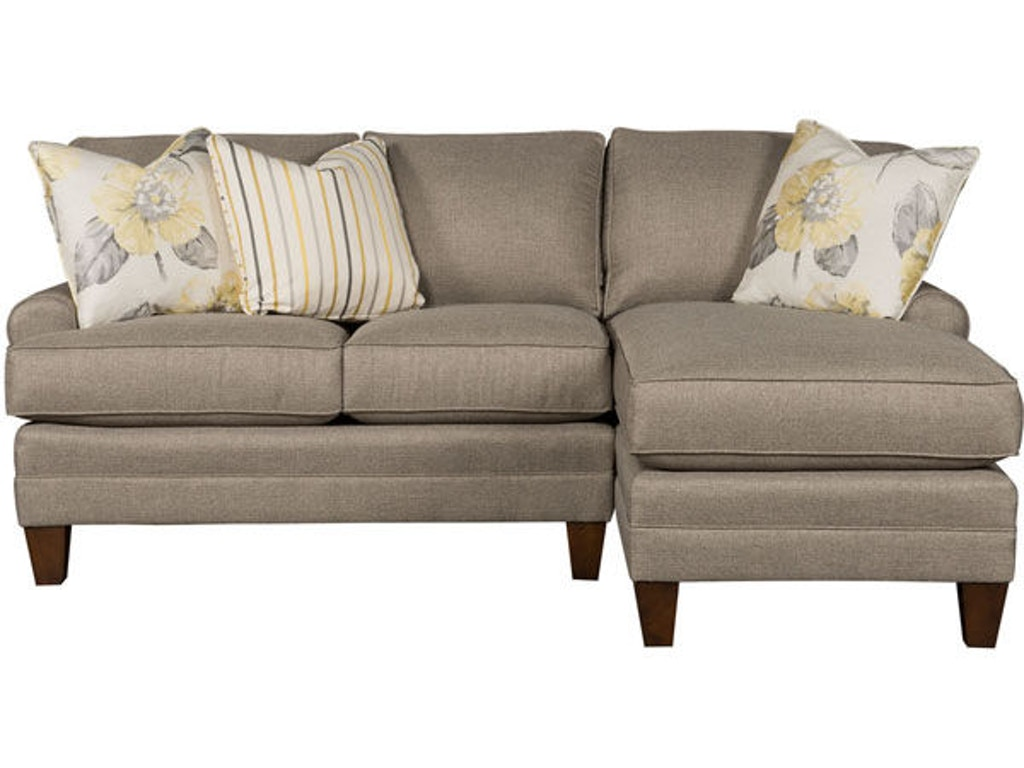 King hickory living room kelly right arm facing one arm for Sofa with only one arm