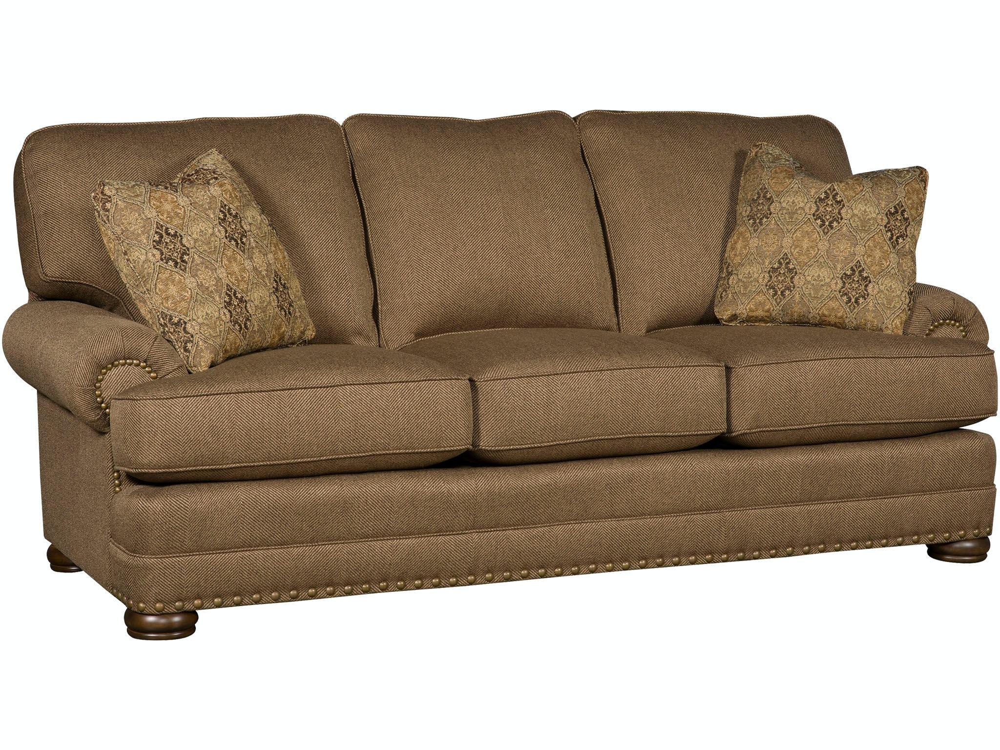 King Hickory Edward Fabric Sofa 8500