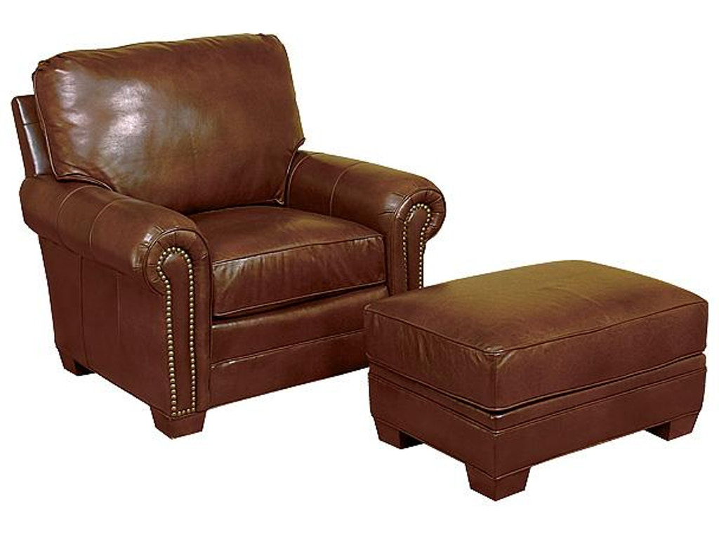 King Hickory Living Room Candice Chair 8601 L Hickory
