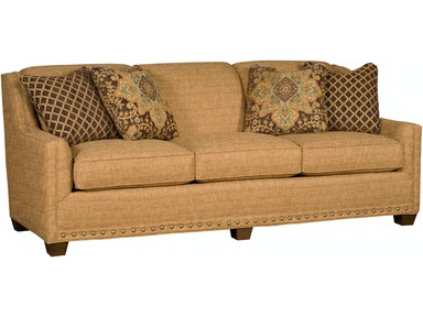 King Hickory Living Room Hillsdale Leather Sofa 9300 L