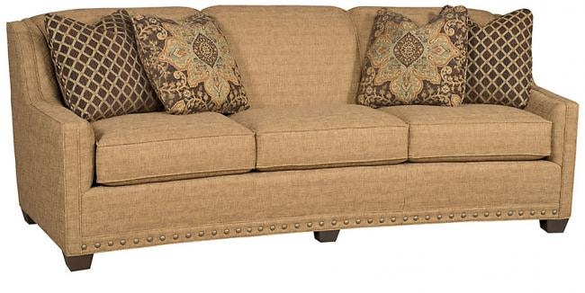 Modern Styling Will Make The Hillsdale A Favorite Piece In Your Home.  Hillsdale Crescent Sofa 9335 King Hickory