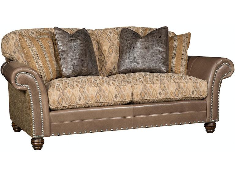 Living Room Katherine Leather/Fabric Sofa 9700-LF - Swann\'s ...