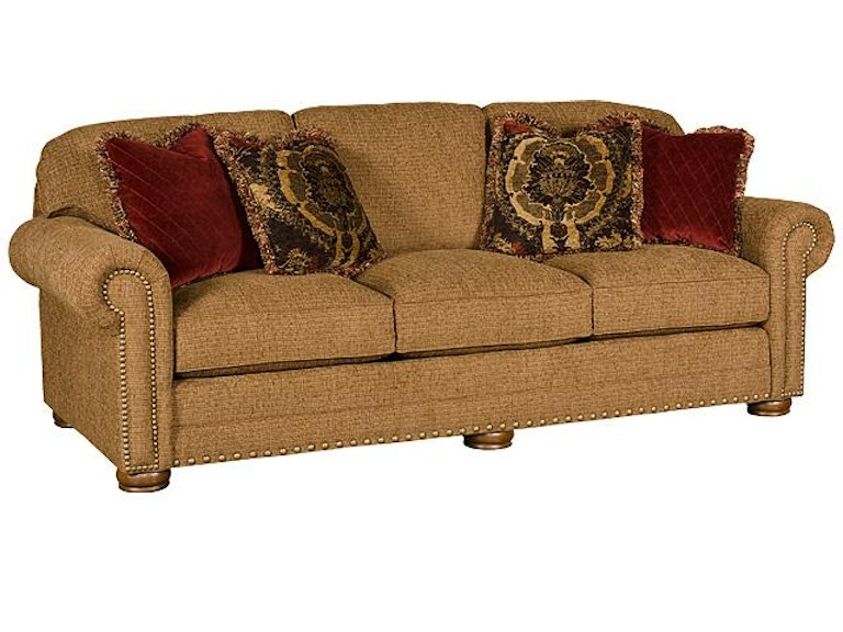King Hickory Living Room Ricardo Fabric Sofa 9900 Howell Furniture Beaumont And Nederland