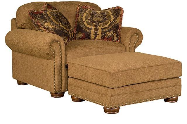 King Hickory Ricardo Fabric Chair And Half 9901