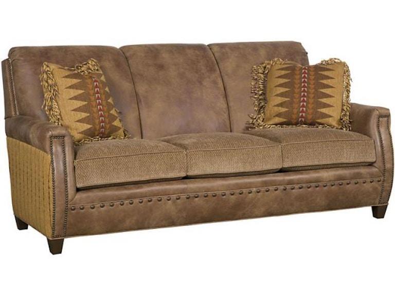 Fabulous King Hickory Living Room Grant Leather Fabric Sofa C19 00 Lf Inzonedesignstudio Interior Chair Design Inzonedesignstudiocom