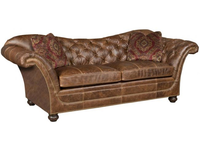 King Hickory Abby Leather Sofa C23 00 L