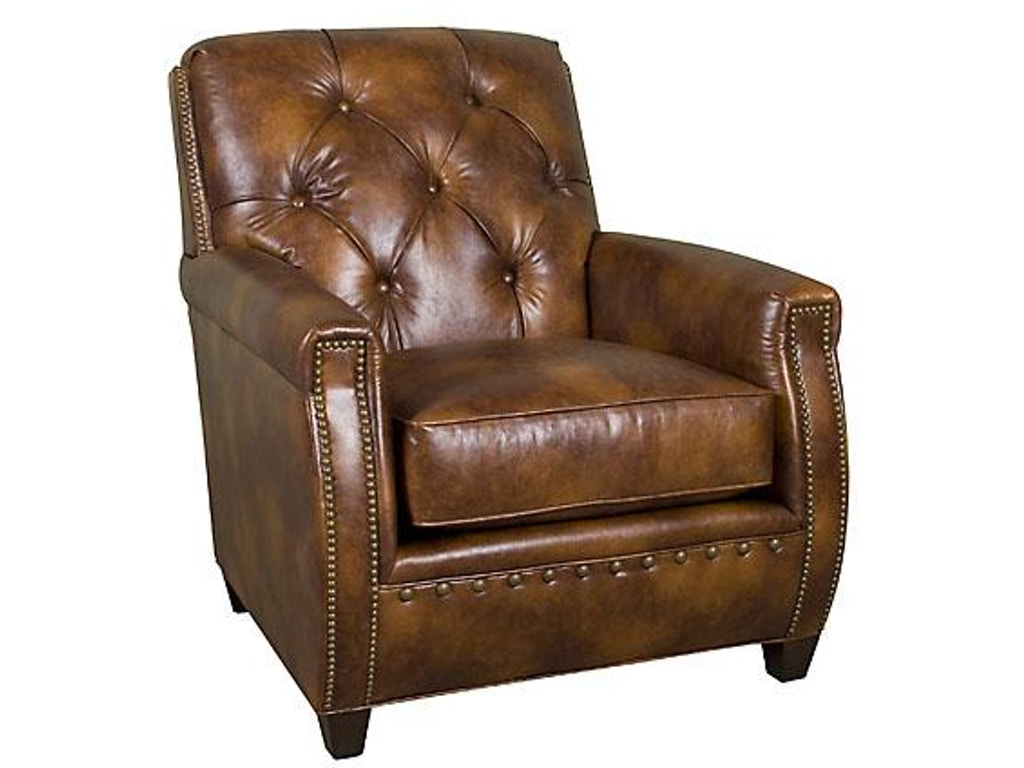 King Hickory Living Room Wyatt Leather Chair C34 01 L Hickory Furniture Mart Hickory Nc