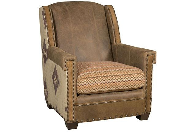 Mustang Leather Fabric Chair