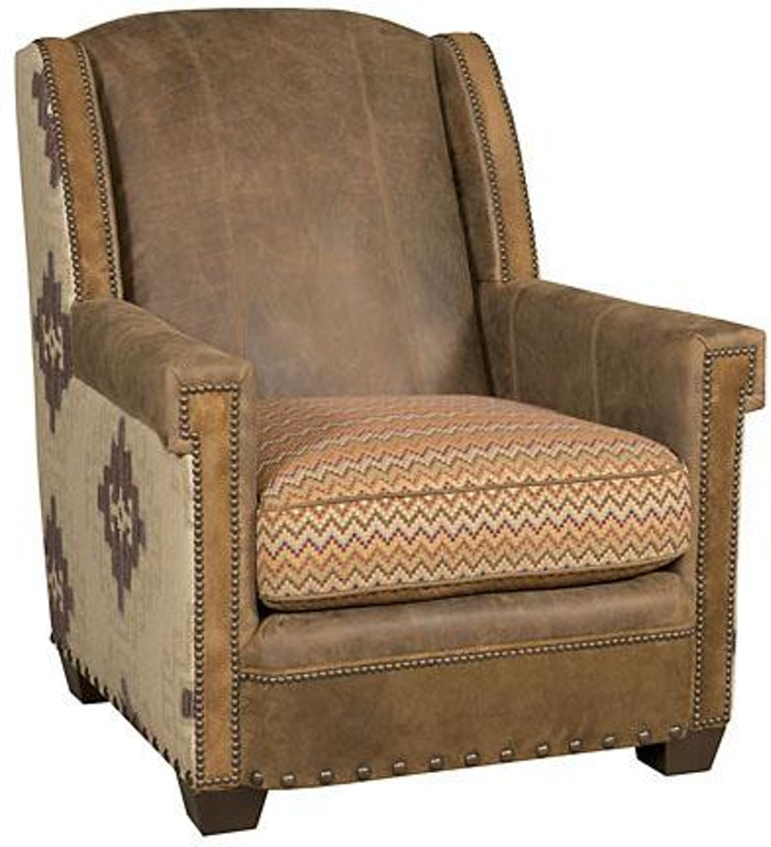 hickory manor living room mustang leather fabric chair c44 01 lf