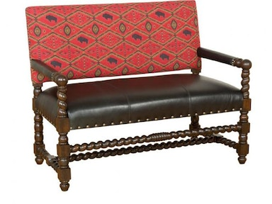 King Hickory Montes Settee W16-20-LF