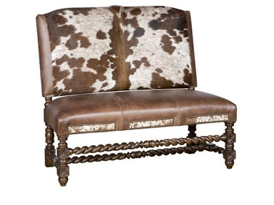 King Hickory Montes Armless Settee W17-20-HOH