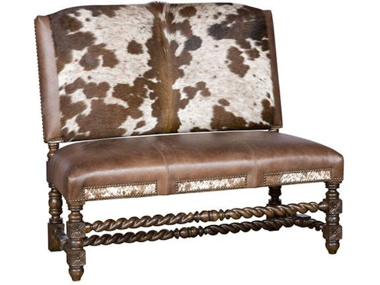 King Hickory Living Room Montes Armless Settee W17 20 Hoh