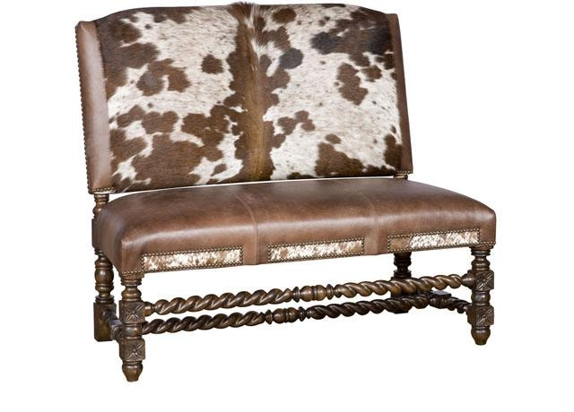 king hickory montes armless settee w1720hoh
