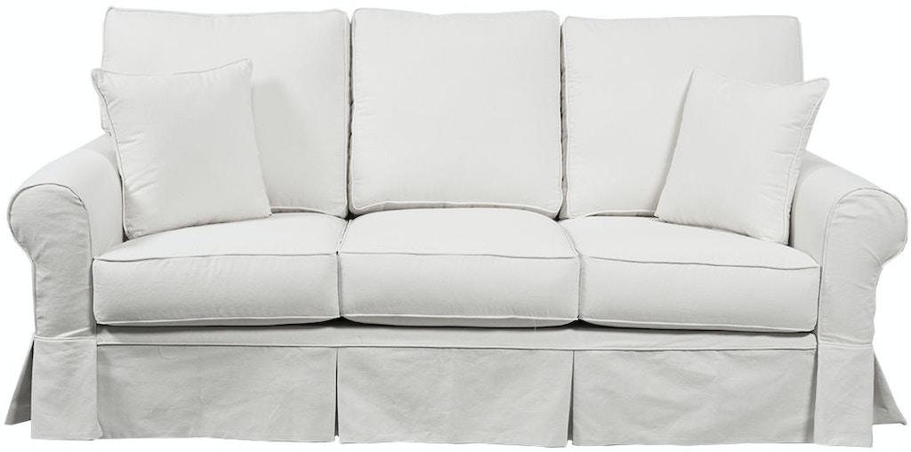 Capris Living Room Sofa Slipcover S509 - Seaside Furniture ...