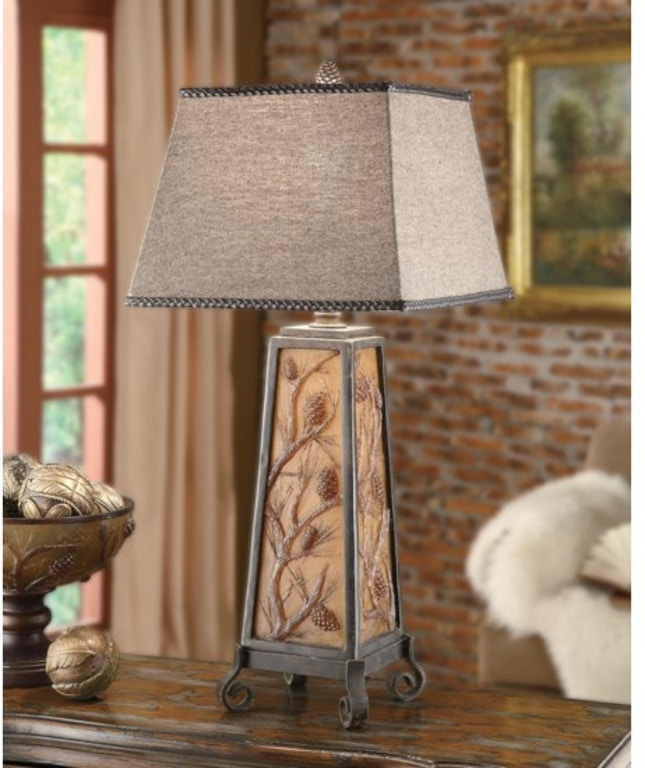 Crestview Lamps And Lighting Autumns Light Table Lamp