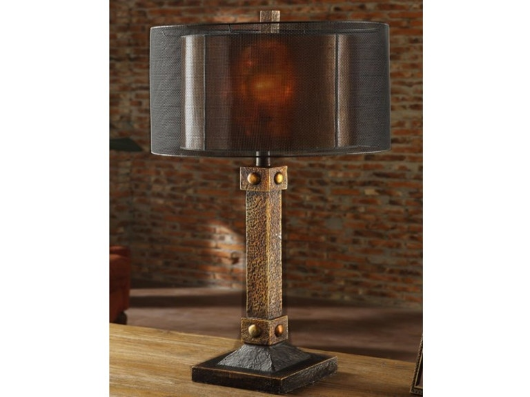 ... Lighting · Dick Idol/Rustic · Crestview Montana Table Lamp CIAUP535