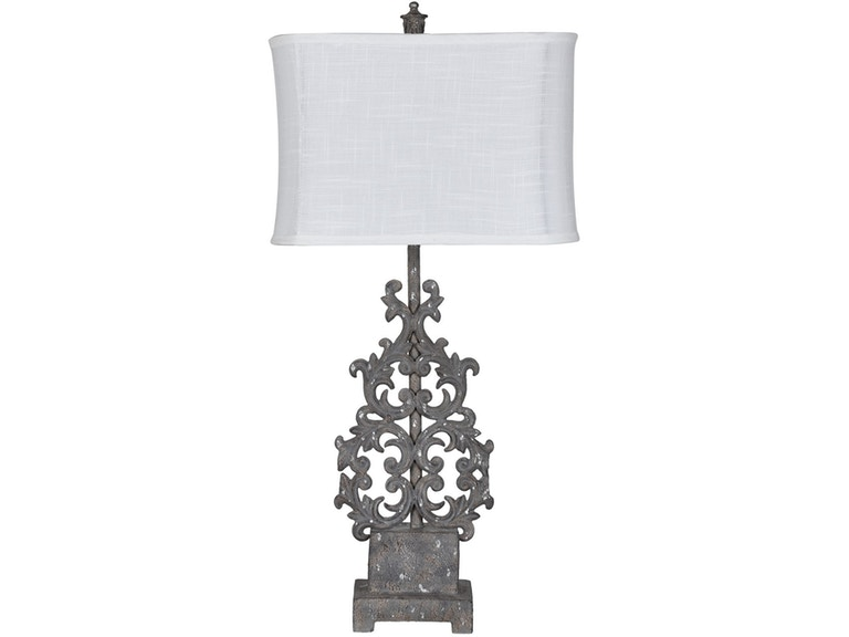Crestview Lamps And Lighting Flower Table Lamp Cvaer1277