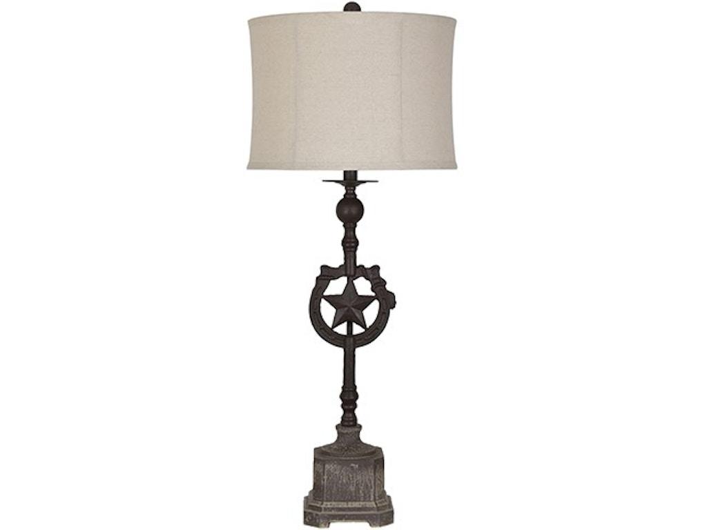 Texas Star Table Lamp Cvaer1285