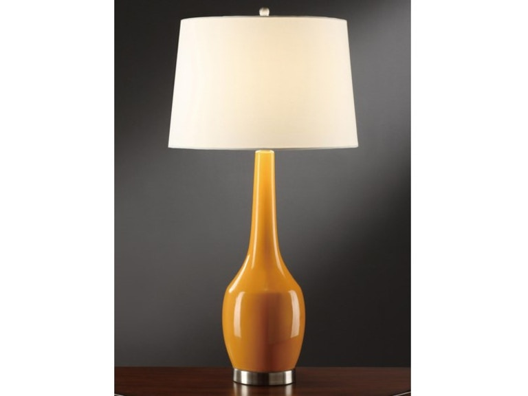 Crestview lamps and lighting nina orange table lamp cvap1344a