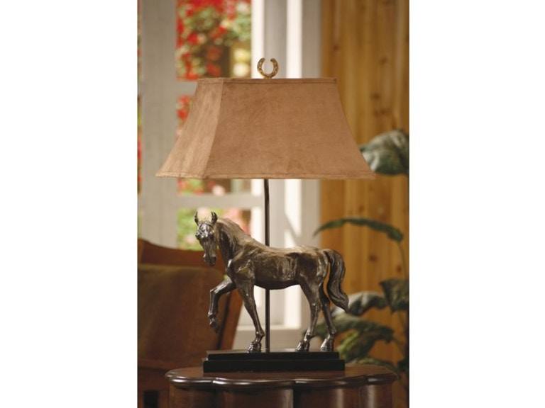 ... Lighting · Dick Idol/Rustic · Crestview Horse Creek Table Lamp CVAQP936