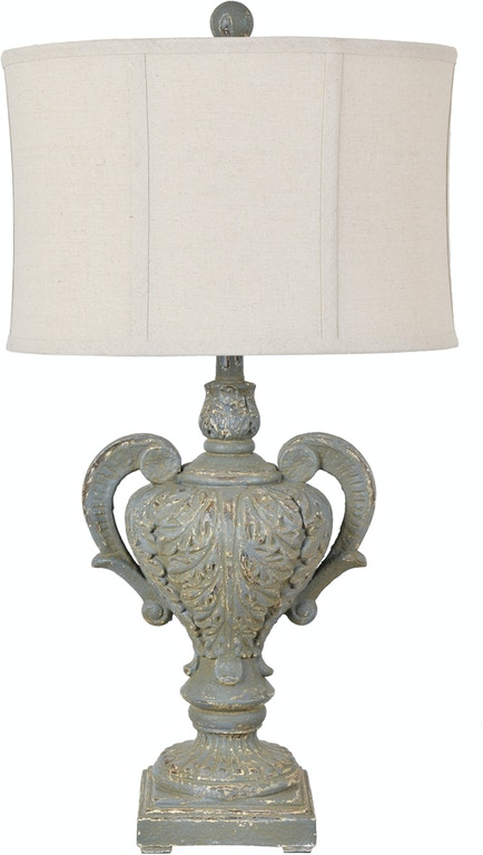 Crestview Lamps And Lighting Calico Table Lamp Cvavp1218