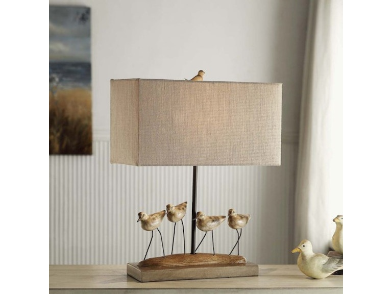 Crestview lamps and lighting shore birds table lamp cvavp384 smith