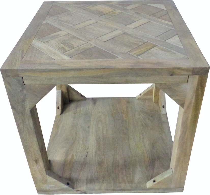Crestview Living Room Willow Brook Square End Table Cvfnr5046 Gilliam Thompson Furniture