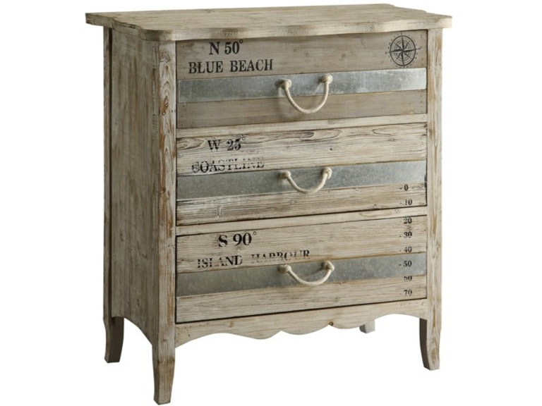 Crestview Grand Isle 3 Drawer Chest Cvfzr1009