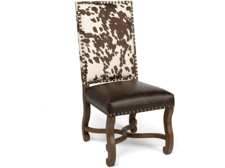 Crestview Dining Room Mesquite Ranch Leather And Faux