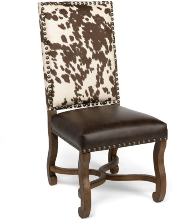 Crestview Dining Room Mesquite Ranch Leather And Faux ...