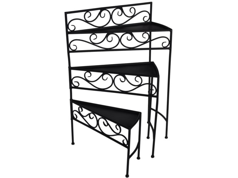Crestview Accessories Cascade Shelf Cvtfr1007 New Look Furniture Lake Charles La