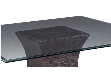 "Bailey Street 46"" Square Glass Table Top 6040514T"