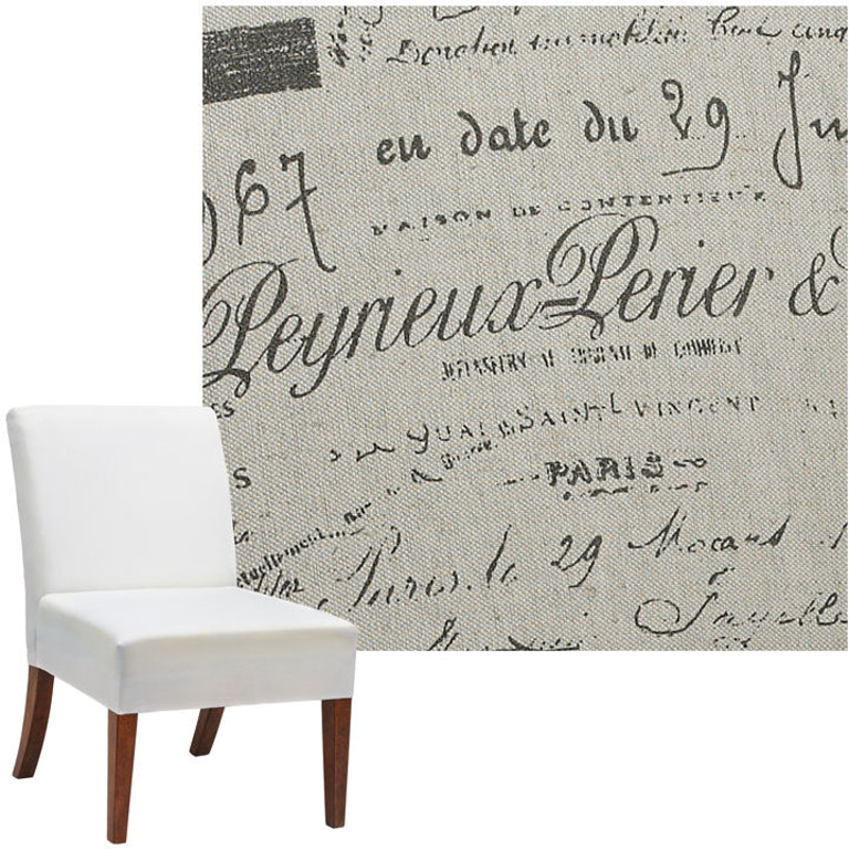 Superb Bailey Street Dining Room Parchment Slipper Chair Cover Evergreenethics Interior Chair Design Evergreenethicsorg