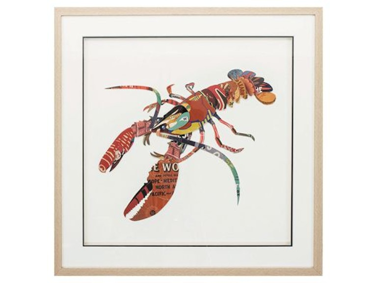 Propac Accessories Paper Collage Lobster 8406 Bacons Furniture Port Charlotte Fl