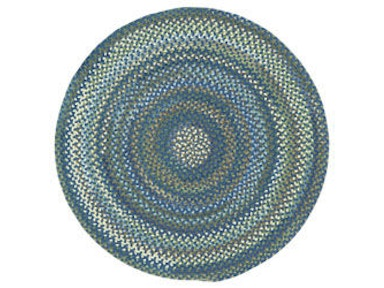 Capel Incorporated Homecoming (4 Pc Pkg.) Chairpad Rug 0048CS Lake Blue