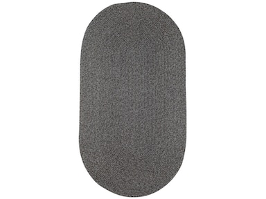 Capel Incorporated Heathered (4 Pc Pkg.) Chairpad Rug 0050CS Grey