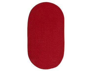 Capel Incorporated Heathered Rug 0050CS Scarlet Solid