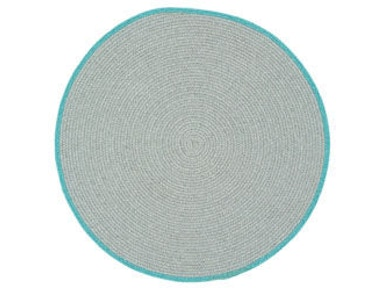 Capel Incorporated Hableland Rug 0076CS Lt. Grey Baltic Blue