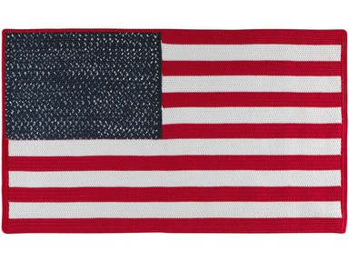 Capel Incorporated American Pride Rug 0101RS Red White Blue