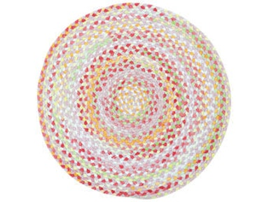 Capel Incorporated Afternoon Tea Rug 0207CS Rosy Posy