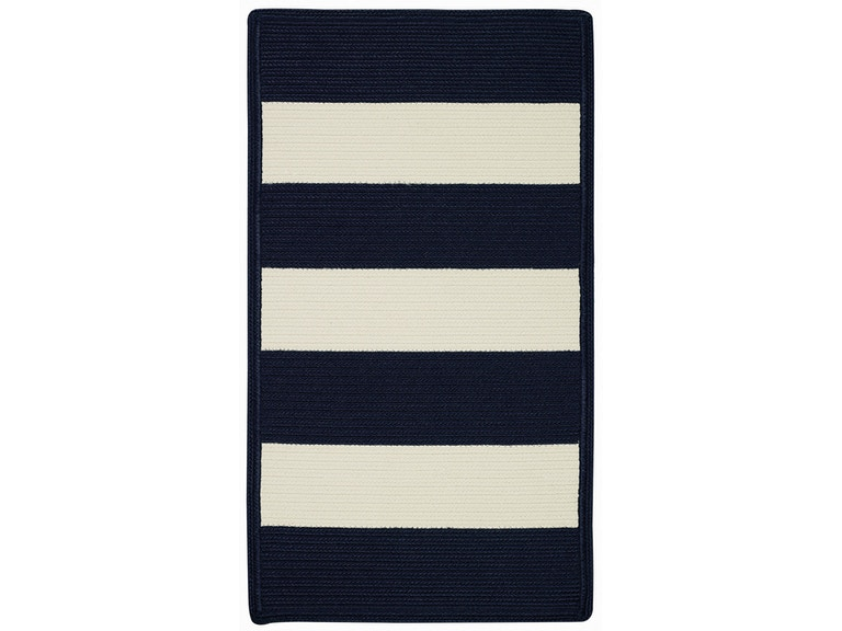 Capel Incorporated Floor Coverings Cabana Stripes Rug 0848xs Navy