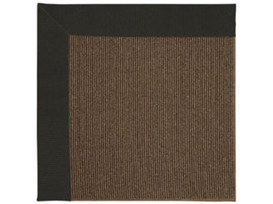 Capel Incorporated Creative Concepts-Java Sisal Rug 2007RS Canvas Black
