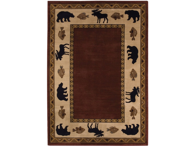 Capel Incorporated Floor Coverings Cabin Retreat Rug 2365rs Merlot